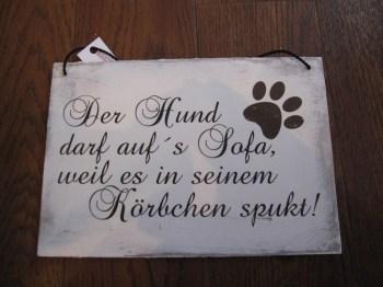 Vintage Shabby Chic Schilder Fur Hundefreunde Zitate Oder Witzige